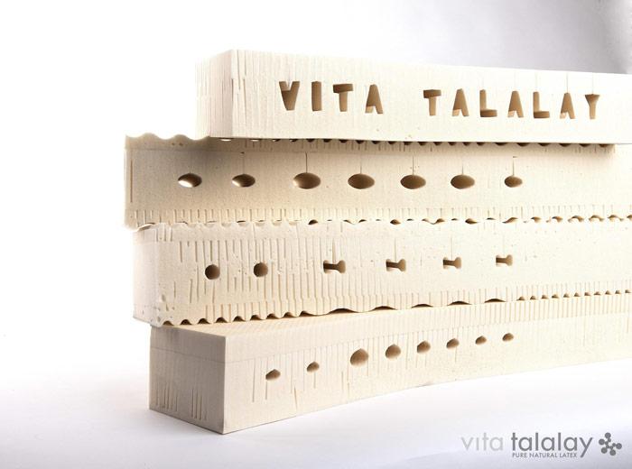 Piana lateksowa uzyskana metodą Talalay