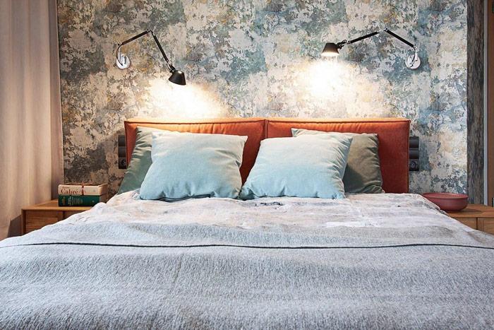 Sypialnia wstylu japońskim - symetryczna sypialnia dladwojga zgodna zzasadami feng shui