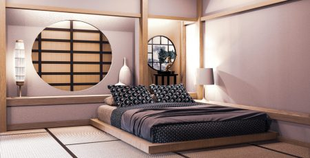 Sypialnia w stylu japońskim – jak spać w klimacie zen