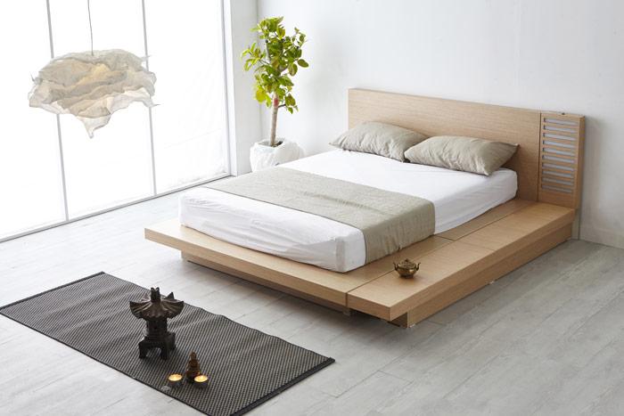 Sypialnia wstylu japońskim – japoński wystrój sypialni zminimalną ilością dodatków