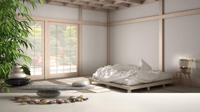 Sypialnia wg zasad feng shui