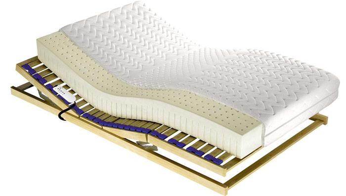 Spanie zdzieckiem - argumenty zai przeciw - materac lateksowy odwóch twardościach