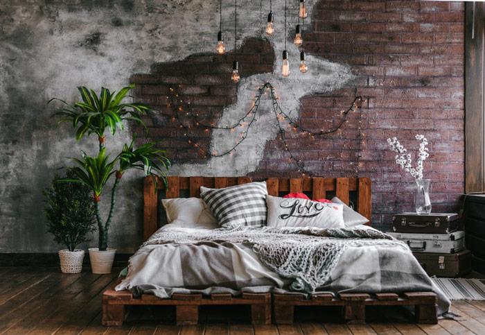 Co powiesić nadłóżkiem wsypialni - inspiracje