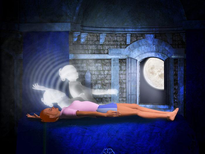 Symboliczne przedstawienie świadomego śnienia - zdrowy-sen.eu